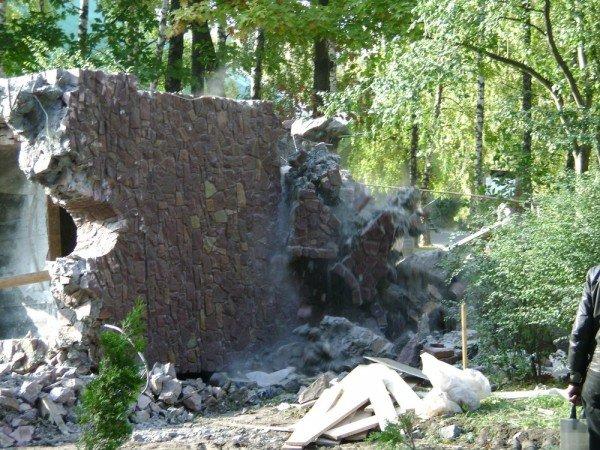 Незаконно збудовані споруди у парку Національного відродження демонтовані остаточно (фото), фото-4