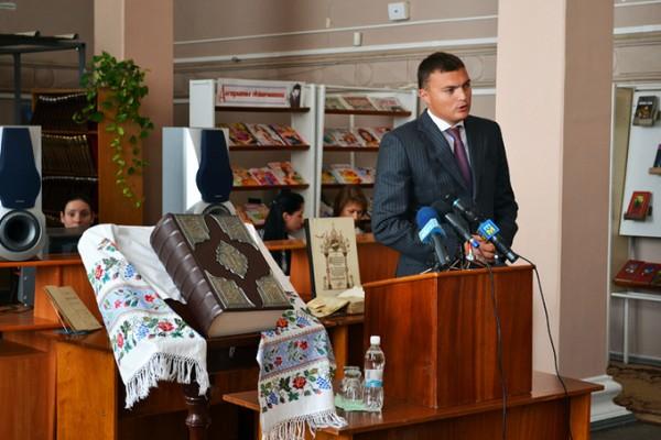 В Николаеве презентовали факсимильное издание Пересопницкого Евангелия  (ФОТО), фото-3