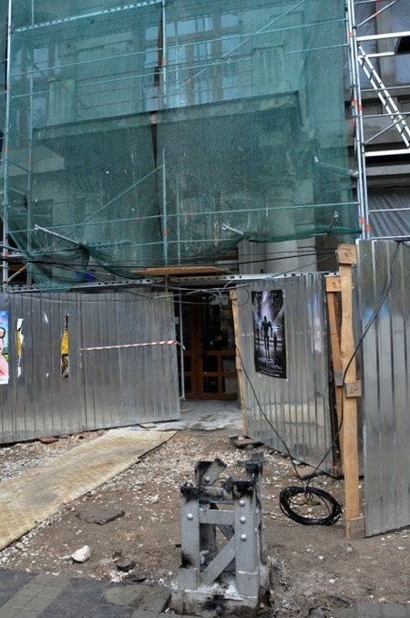 В Симферополе продолжают сносить столетние опоры (фото), фото-5