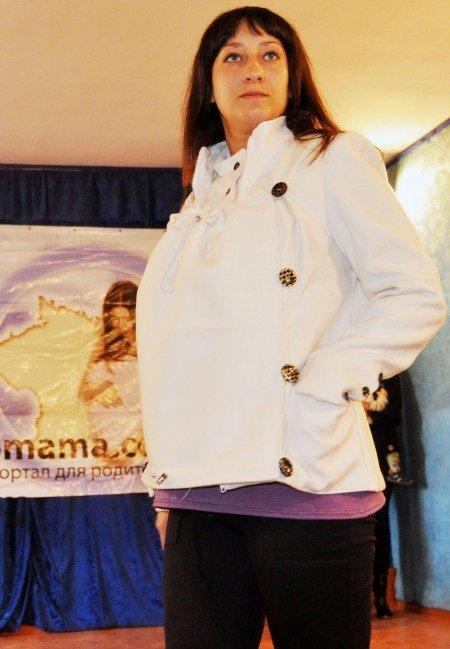 Симферопольским мамочкам презентовали необычную куртку со вшитым слингом (фото), фото-3