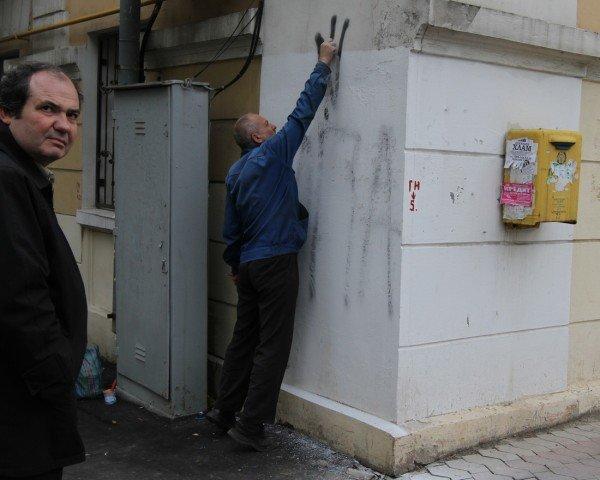 На стенах донецких домов сегодня появились надписи и символы Украинской повстанческой армии (фото), фото-2