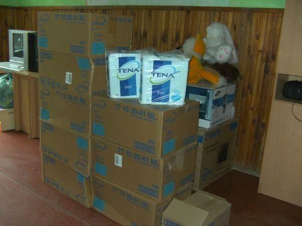 Белогорскому детскому дому-интернату помогли памперсами и пеленками (фото), фото-2