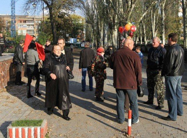 Марш УПА в Донецке закончился дракой с подполковником  милиции (фото, видео), фото-1