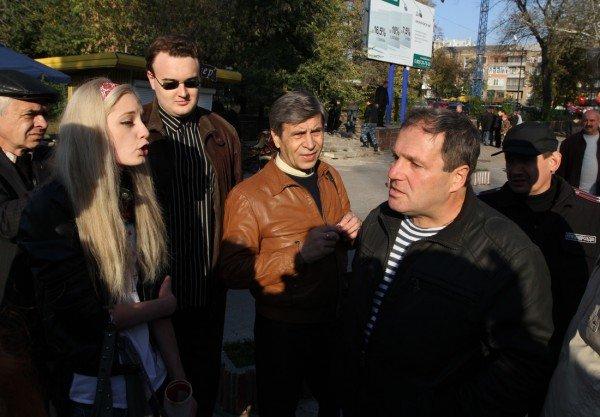 Марш УПА в Донецке закончился дракой с подполковником  милиции (фото, видео), фото-2