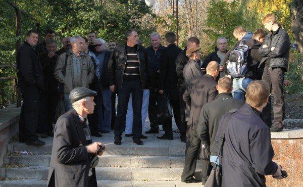 Марш УПА в Донецке закончился дракой с подполковником  милиции (фото, видео), фото-3
