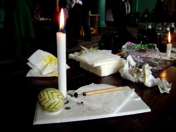 В Артемовске интеллигенция области красила яйца, фото-6
