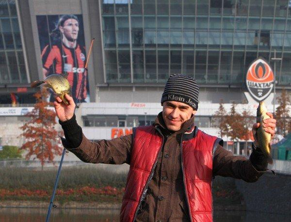 На «Донбасс  Арене» клев оказался не хуже, чем у Белой скалы, фото-4