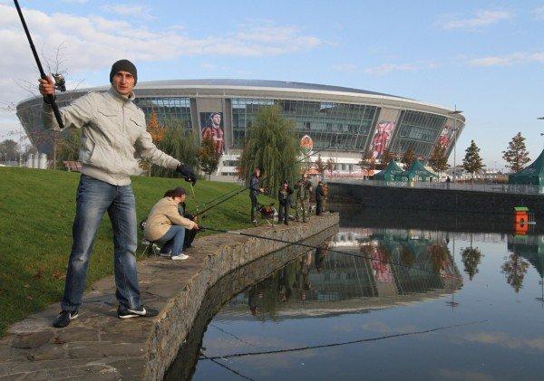 На «Донбасс  Арене» клев оказался не хуже, чем у Белой скалы, фото-6