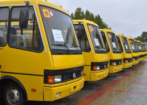 Школы Крыма получили 14 новых автобусов (фото), фото-1