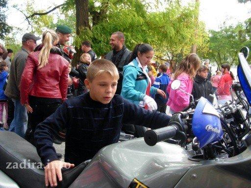 Николаевские байкеры подарили детям Очакова праздник, фото-11