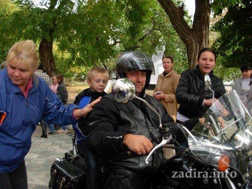 Николаевские байкеры подарили детям Очакова праздник, фото-6