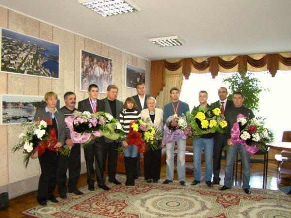 Областные власти поздравили николаевских спортсменов с победой (ФОТО), фото-5