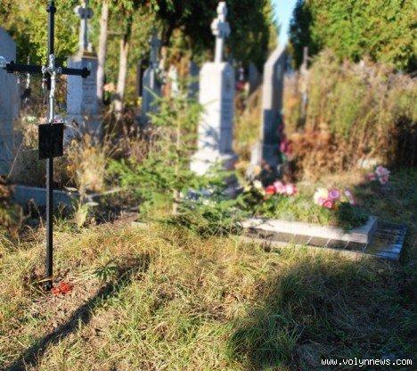 На цвинтарі в Гаразджі знайшли могили-макети (ФОТО), фото-6