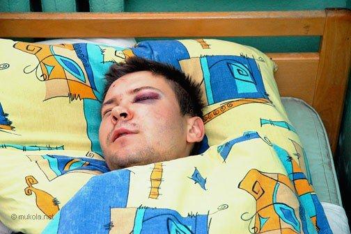 Городской голова Владимир Чайка посетил в БСМП раненого журналиста, фото-8