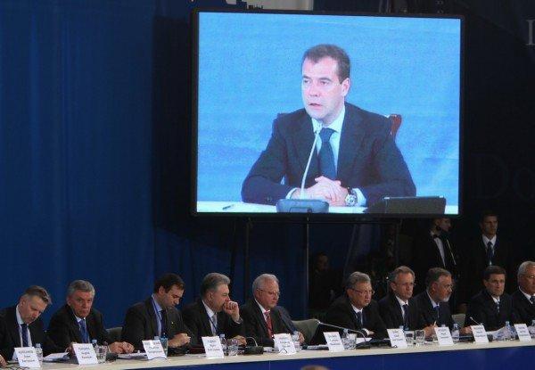 Янукович и Медведев в Донецке – много шума и ничего? (фото), фото-2