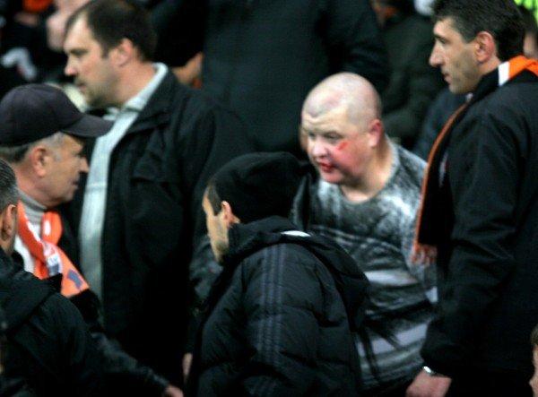 Драка на «Донбасс Арене» во время матча «Шахтер» - «Зенит» (фото), фото-2
