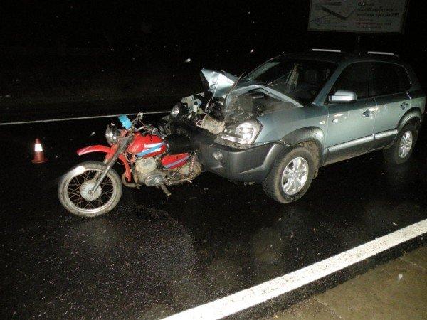 На Николаевщине мотоцикл не разминулся с автомобилем (ФОТО), фото-1