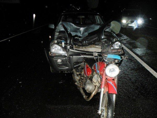 На Николаевщине мотоцикл не разминулся с автомобилем (ФОТО), фото-2