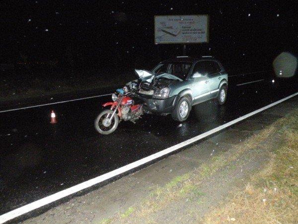 На Николаевщине мотоцикл не разминулся с автомобилем (ФОТО), фото-3