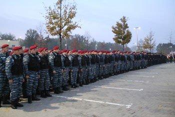 Донецкая милиция в отличие от болельщиков вполне довольна результатами матча «Шахтер» - «Зенит», фото-1