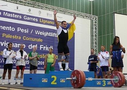 Закарпатські важкоатлети допомогли українській збірній посісти перше місце на змаганнях у Італії, фото-1