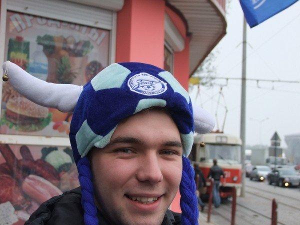 Фаны «Зенита» не торопятся уезжать из Донецка (фото), фото-2