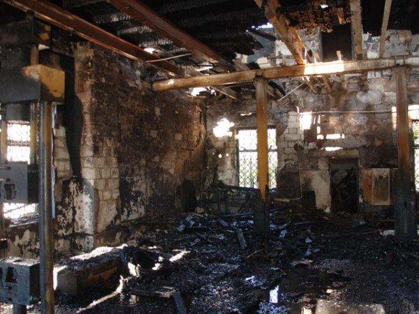 В Николаеве горел завод железобетонных изделий  (ФОТО) (ДОПОЛНЕНО), фото-1
