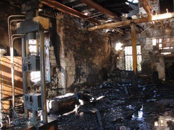 В Николаеве горел завод железобетонных изделий  (ФОТО) (ДОПОЛНЕНО), фото-8