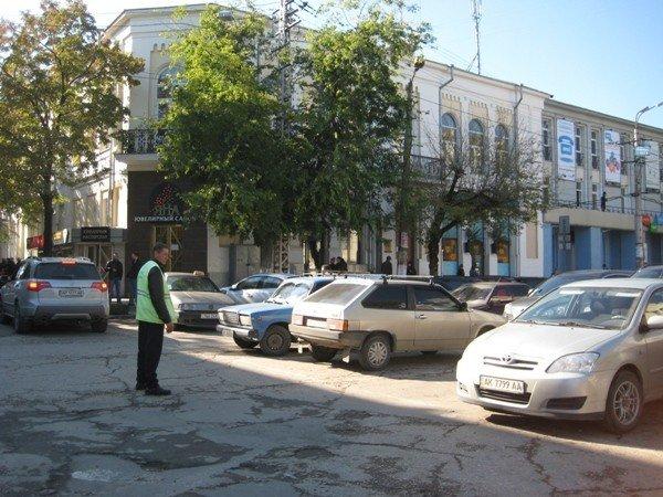 В Симферополе сократят парковки (фото), фото-4