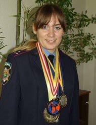 В донецкой милиции служит чемпионка мира по кикбоксингу (фото), фото-1