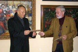 У Вінниці відкрилась міжрегіональна пересувна художня виставка «Сусіди» (ФОТО), фото-3