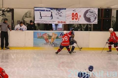 Вінничани ледь не створили хокейну сенсацію (ФОТО), фото-2