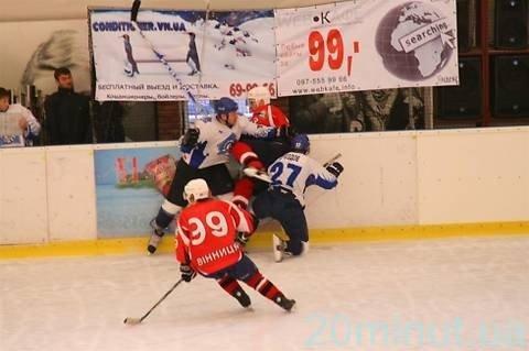 Вінничани ледь не створили хокейну сенсацію (ФОТО), фото-6