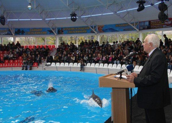 Как дельфины в Донецке лечили детей (фото), фото-2