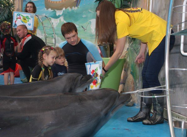 Как дельфины в Донецке лечили детей (фото), фото-7