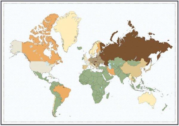 Українці вимруть через 1200 років, росіяни - через 800, Ізраїль - ніколи, фото-2