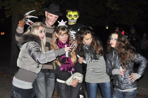 В Симферополе празднование Хэллоуина переросло в драку (фото), фото-5