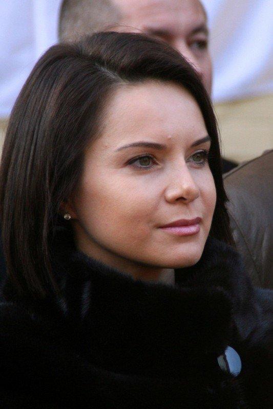 В Донецке Лилия Подкопаева открыла мемориальную доску, посвященную пятикратной олимпийской чемпионке  Полине Астаховой (фото), фото-2