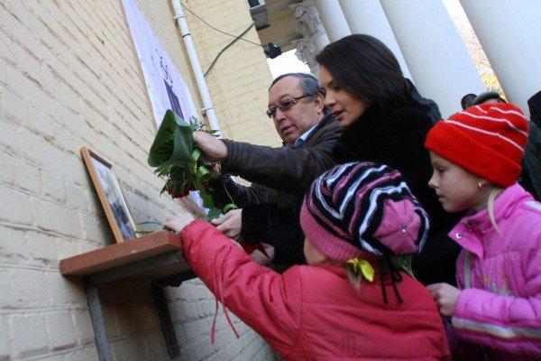 В Донецке Лилия Подкопаева открыла мемориальную доску, посвященную пятикратной олимпийской чемпионке  Полине Астаховой (фото), фото-5