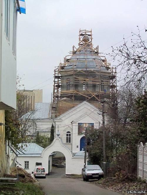 В Житомире на Свято-Успенский храм скоро установят позолоченные кресты (ФОТО), фото-2