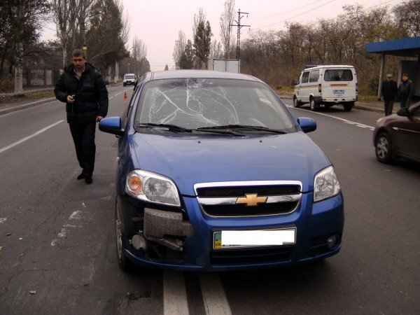 В Донецке сбили велосипедиста (фото), фото-1