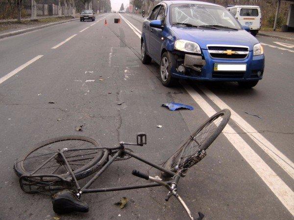 В Донецке сбили велосипедиста (фото), фото-2