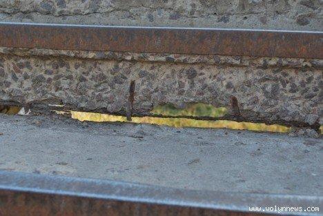 Молодь подякувала владі за міст з дірками (ФОТО), фото-9