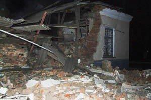 В Донецке взорвался морг - здание в 200 квадратных метров полностью разрушено (фото), фото-1