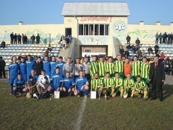 Володаром Кубка  Житомирського району з футболу 2011 року стала команда «Танкіст», фото-4