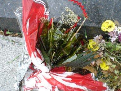 У пам'ятника Леніну в Полтаві потроху крадуть квіти (фотофакт), фото-2