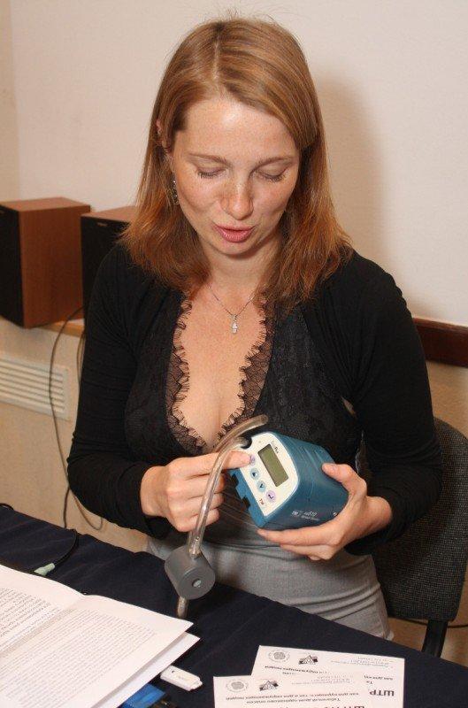 В Донецке продемонстрировали прибор для измерения табачного дыма (фото), фото-3