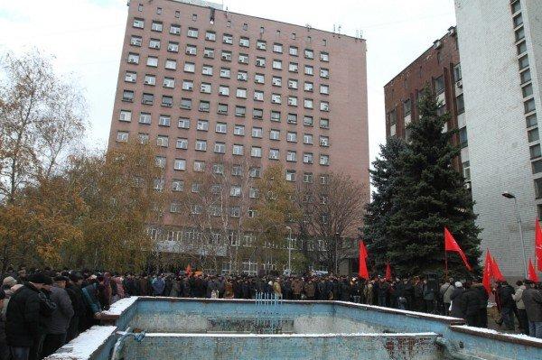 Голодающим чернобыльцам в Донецке угрожают уголовными делами - «Они ждут штурма? Не дождутся!» (фото, видео), фото-1