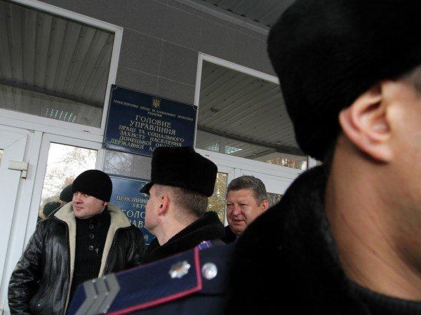 Голодающим чернобыльцам в Донецке угрожают уголовными делами - «Они ждут штурма? Не дождутся!» (фото, видео), фото-7