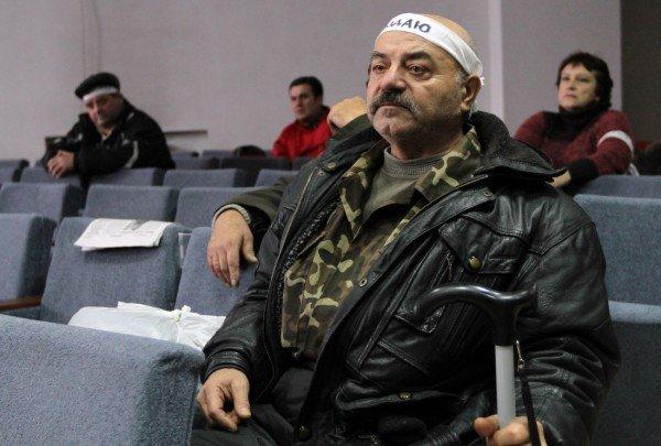 Голодающим чернобыльцам в Донецке угрожают уголовными делами - «Они ждут штурма? Не дождутся!» (фото, видео), фото-8